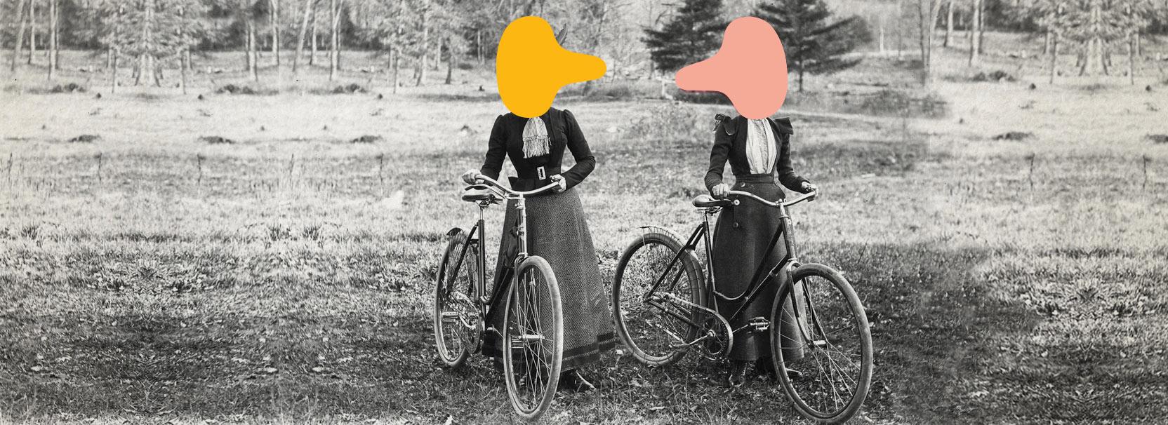 gekleurde-Heer-Zadel-fietszadels-dames